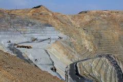 Lavoro minerario Immagine Stock Libera da Diritti