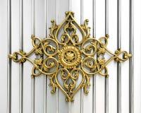 Lavoro ornamentale di ferro Immagini Stock