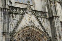 Lavoro in pietra della cattedrale Fotografia Stock Libera da Diritti