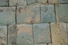 Lavoro in pietra inca preciso Fotografia Stock