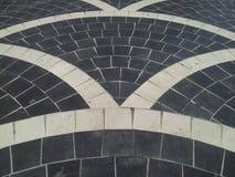 lavoro in pietra sul pavimento Immagini Stock Libere da Diritti