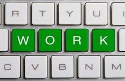 Lavoro sulla tastiera Fotografia Stock