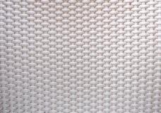 Lavoro in vimini in grigio chiaro Fotografia Stock