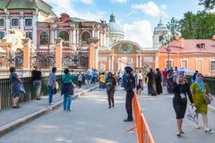 lavra Александра nevsky Стоковые Фото
