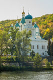 Lavra de Svyato-uspenskaya Photographie stock