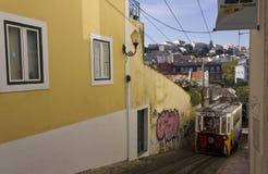 Lavra Funicular, Lisbon Royalty Free Stock Photo
