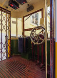 Lavra Funicular in Lisbon Royalty Free Stock Photo