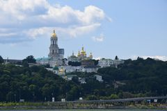Lavra in Kiev royalty free stock photo