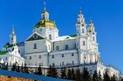 Lavra Pochaev διάσημος εγγραμμένος κληρονομιά κόσμος της ΟΥΝΕΣΚΟ μοναστηριών καταλόγων lavra του Κίεβου dormition καθεδρικών ναών Στοκ φωτογραφία με δικαίωμα ελεύθερης χρήσης