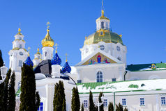 Lavra Pochaev διάσημος εγγραμμένος κληρονομιά κόσμος της ΟΥΝΕΣΚΟ μοναστηριών καταλόγων lavra του Κίεβου dormition καθεδρικών ναών Στοκ Φωτογραφία