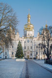 Lavra in winter Stock Image