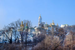 Lavra in winter Royalty Free Stock Photos