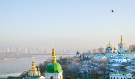 Lavra in winter Royalty Free Stock Photo