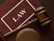 Law royalty free illustration