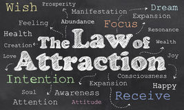 Law of Attraction Stock Photography