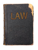 Law book royalty free stock photography
