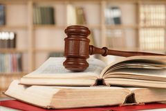Law. Book Gavel parliamentary Punishment Support Justice Stock Photo