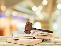 Law. Book Gavel parliamentary Punishment Support Justice Royalty Free Stock Photo