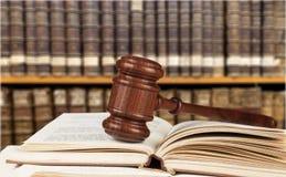 Law Book Stock Photo