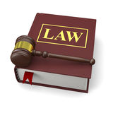 Law book Stock Image