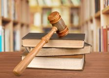 Law. Book Legal System Gavel Justice Antique Stock Images