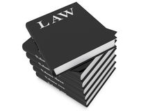 Law books vector illustration