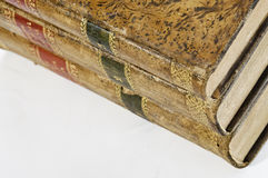 Law books. This image shows three law books, old Royalty Free Stock Images