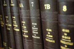 Law Books Royalty Free Stock Image