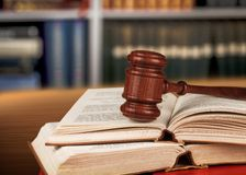 Law Books. Gavel parliamentary Punishment Support Justice Courthouse Stock Photo