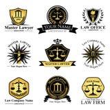 Law Company 库存例证