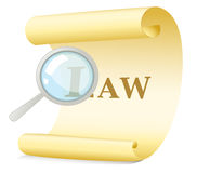 Law concept Stock Photos