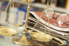 Law concept close up Stock Photo