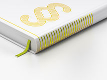 Law concept: closed book, Paragraph on white Stock Image