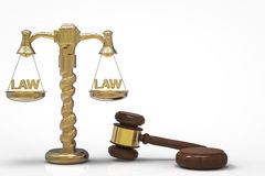 Law concept Stock Image