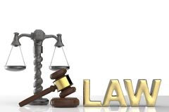 Law concept Royalty Free Stock Photo
