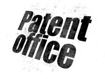 Law concept: Patent Office on Digital background Stock Photo