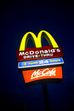Law curbs McDonald's Happy Meal toys Royalty Free Stock Images