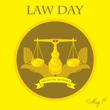 Law Day Stock Image