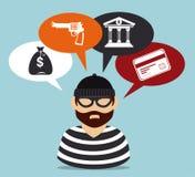 Law Design over blue background vector illustration Stock Image