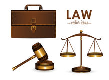 Law design Royalty Free Stock Images