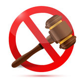 Law and do not sign illustration design Stock Photo