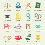 Law elements Stock Images