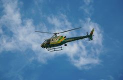 Law Enforcement Helicopter Royalty Free Stock Photography