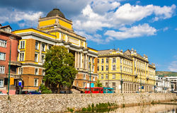Law Faculty of Sarajevo Unversity Stock Photos