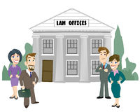 Law Firm Stock Image