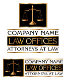 Law Firm Design Royalty Free Stock Photos