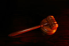 Law gavel Stock Photo