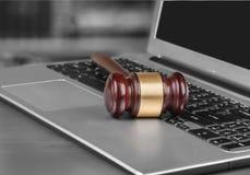 Law Gavel Royalty Free Stock Photo