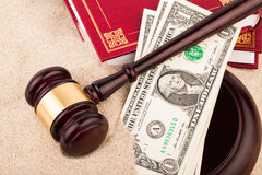 Law gavel Royalty Free Stock Photos