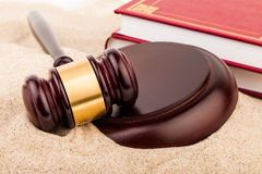 Law gavel Royalty Free Stock Photography